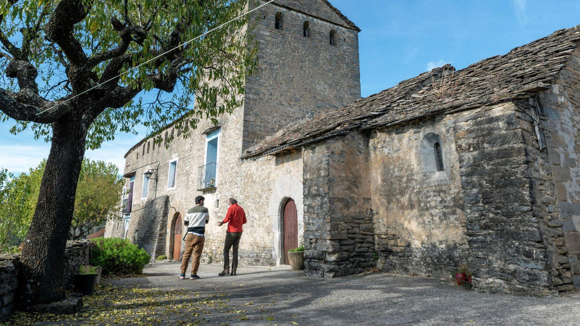 Arcusa (Huesca), uno de los pueblos visitados durante la grabación del documental 'Bienviajar' - Sputnik Mundo, 1920, 28.05.2021