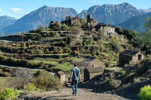 Muro de Bellos (Huesca), pueblo de la comarca de Sobrarbe - Sputnik Mundo