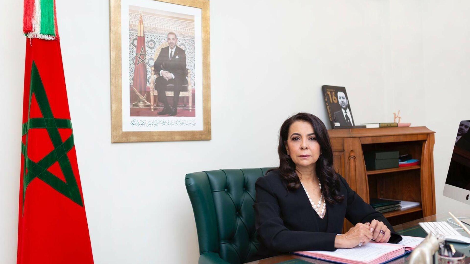Karima Benyaich, embajadora de Marruecos en España - Sputnik Mundo, 1920, 18.05.2021