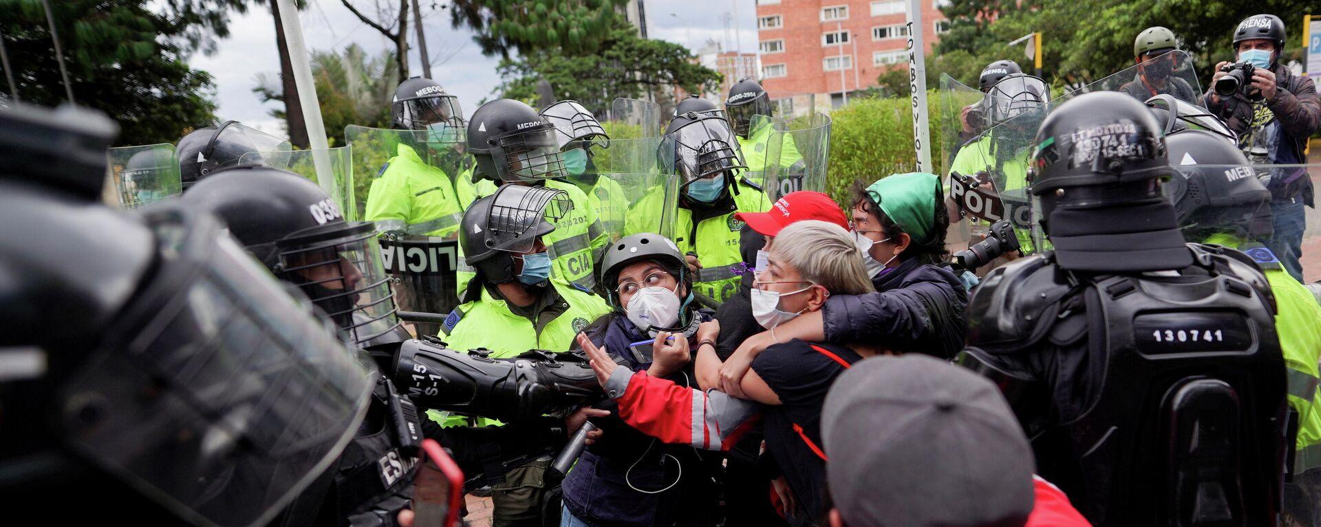 Protestas en Colombia - Sputnik Mundo, 1920, 25.05.2021