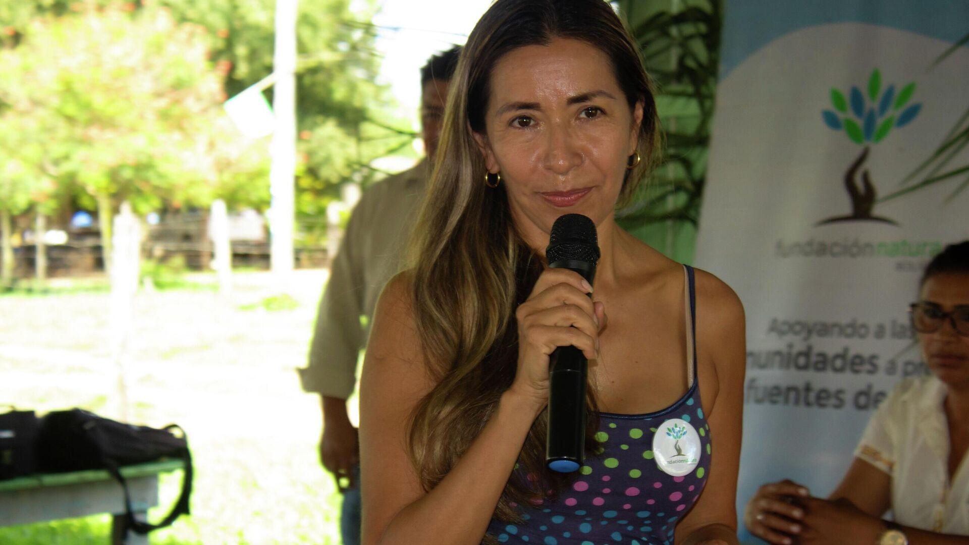 María Teresa Vargas, directora de Fundación Natura - Sputnik Mundo, 1920, 19.05.2021