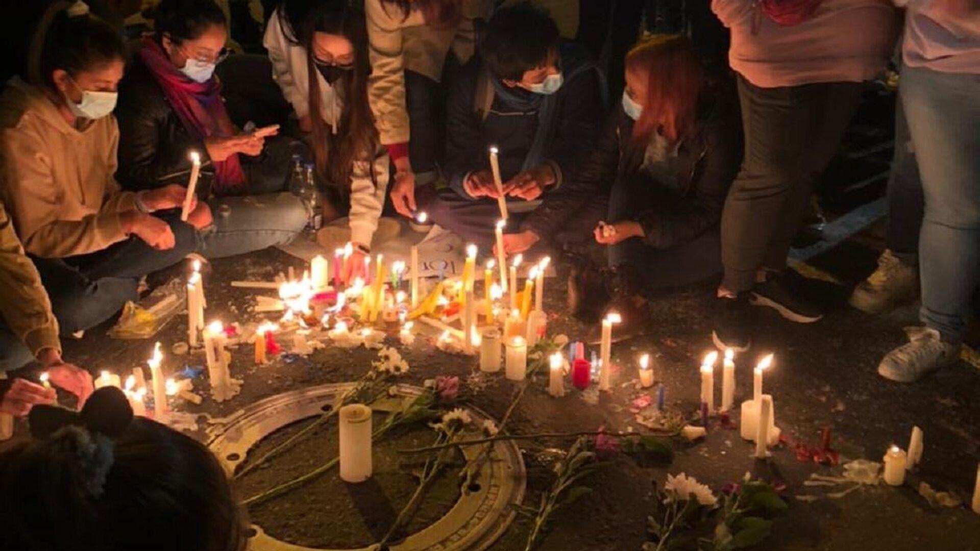 Conmemoración realizada en Cali a las víctimas de violencia policial en Colombia - Sputnik Mundo, 1920, 31.05.2021