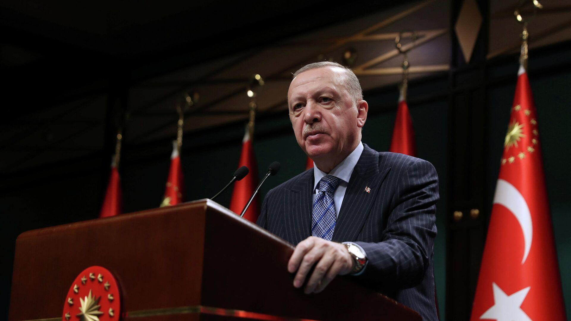 Recep Tayyip Erdogan, presidente de Turquía - Sputnik Mundo, 1920, 19.05.2021
