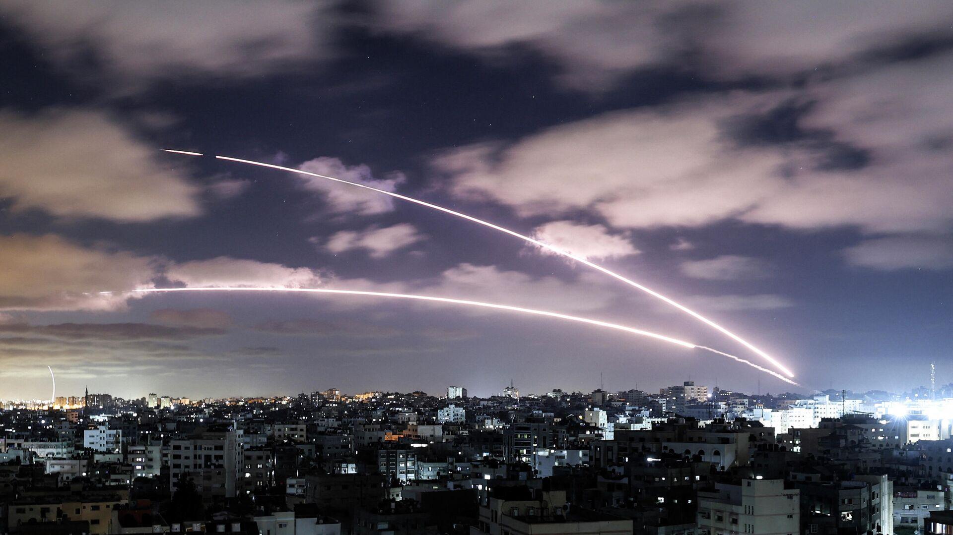 Ataques a Israel desde la Franja de Gaza - Sputnik Mundo, 1920, 19.05.2021