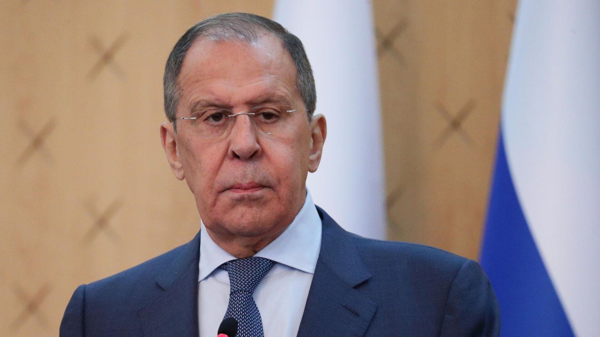 El ministro de Asuntos Exteriores ruso, Serguéi Lavrov - Sputnik Mundo, 1920, 19.05.2021