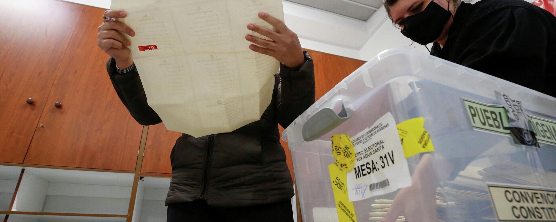 Elecciones en Chile - Sputnik Mundo, 1920, 19.05.2021