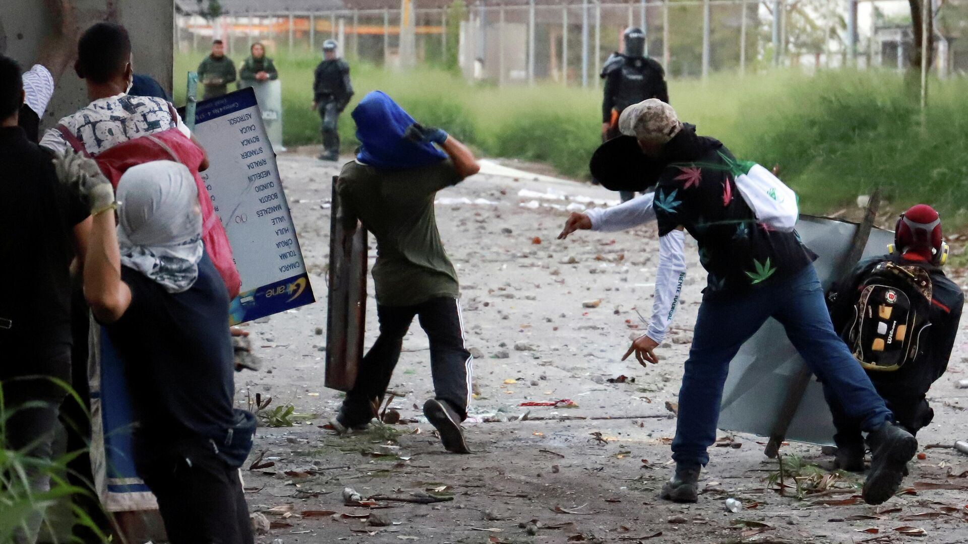 Protestas en Colombia - Sputnik Mundo, 1920, 19.05.2021