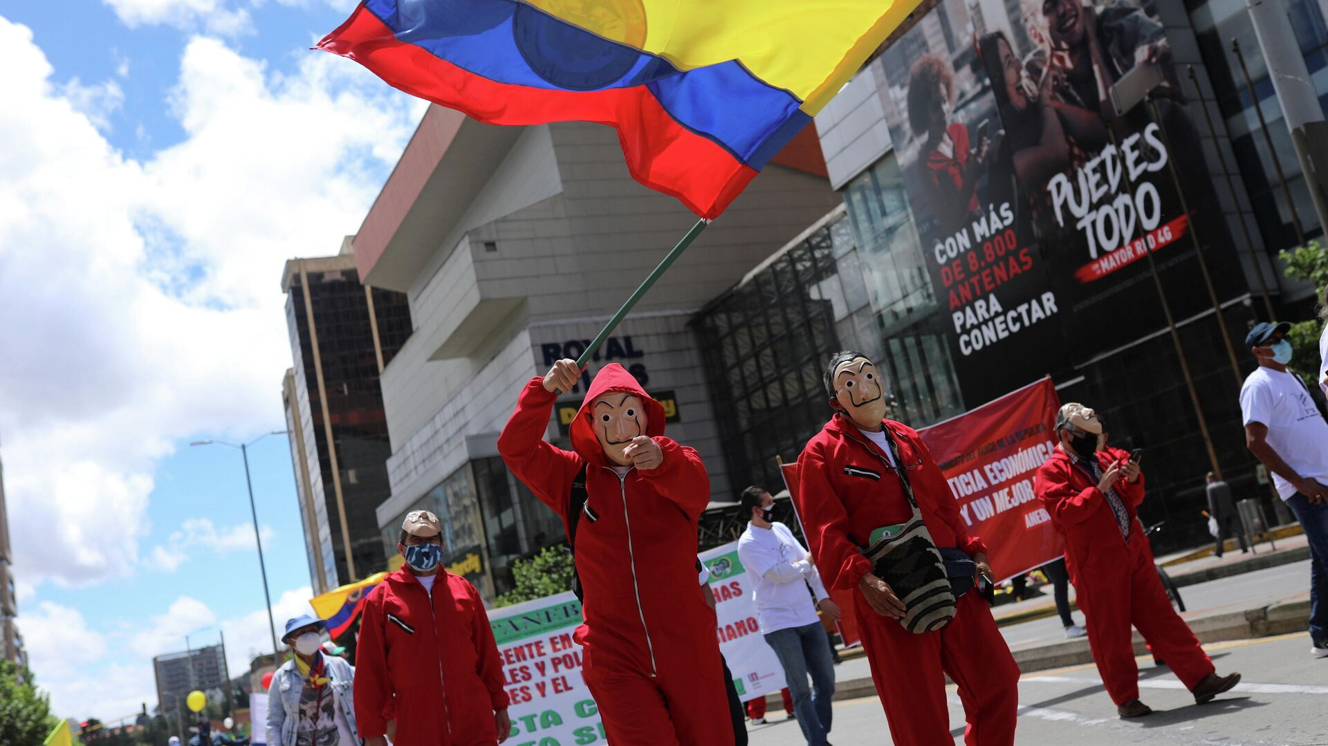 Nueva jornada de movilizaciones en Colombia - Sputnik Mundo, 1920, 19.05.2021