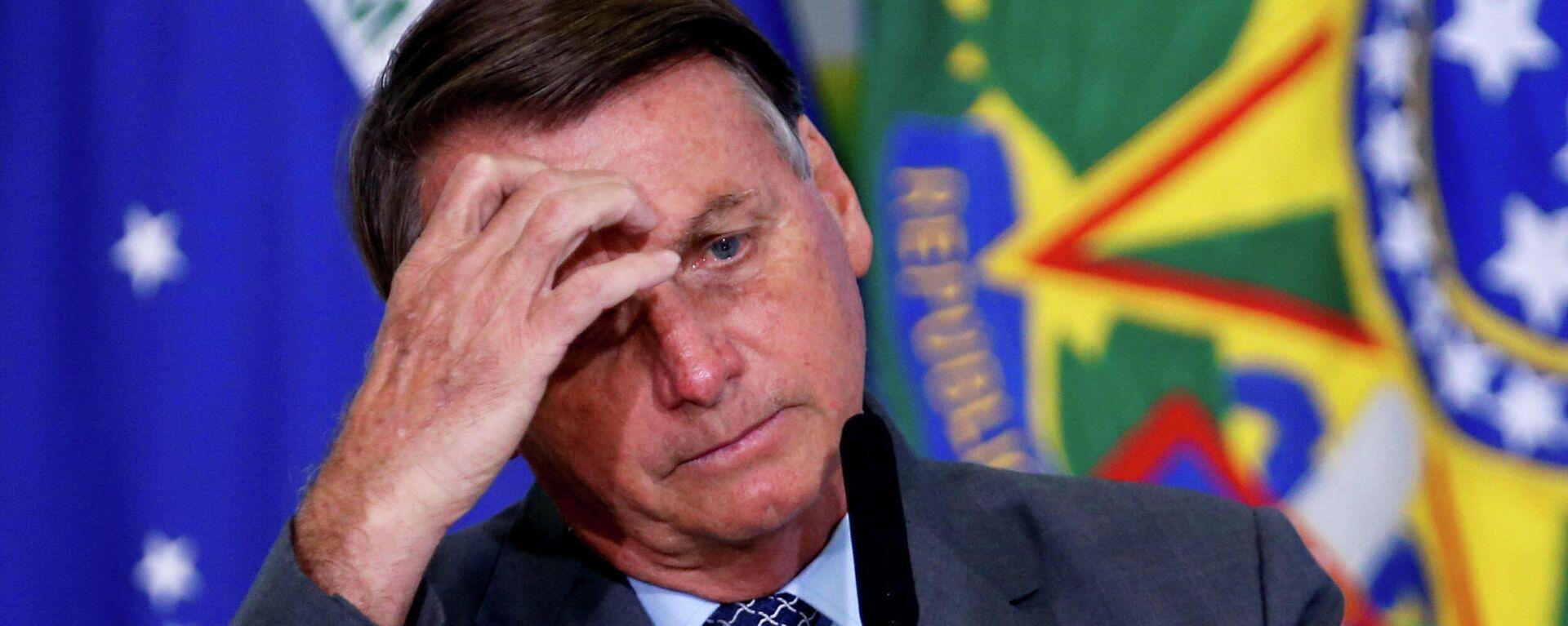 Jair Bolsonaro, presidente de Brasil - Sputnik Mundo, 1920, 27.05.2021