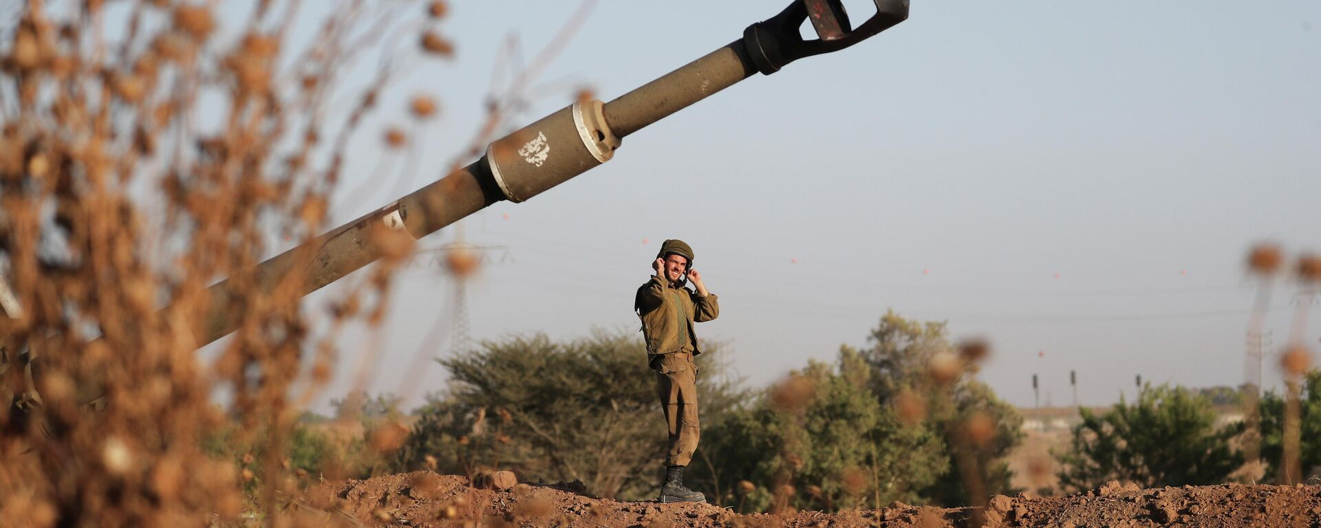 Un soldado israelí - Sputnik Mundo, 1920, 19.05.2021