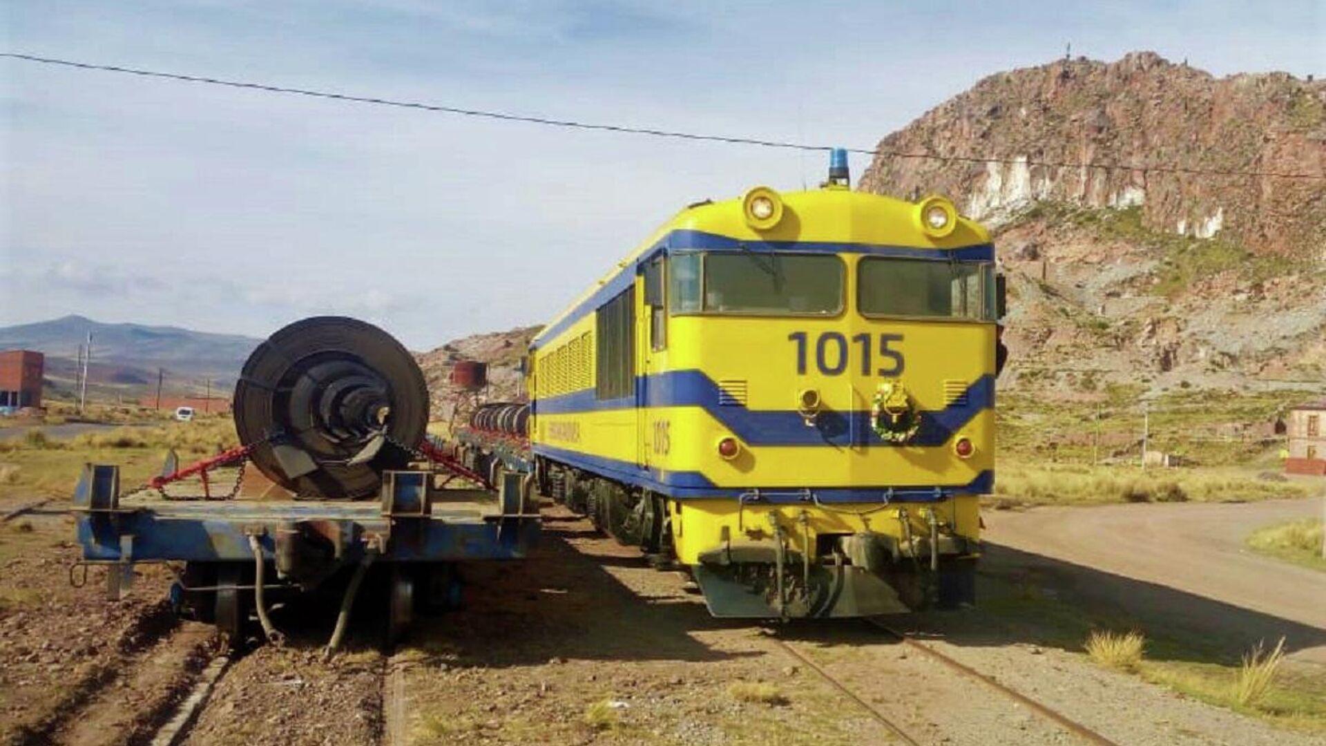 Tren La Paz-Arica - Sputnik Mundo, 1920, 19.05.2021