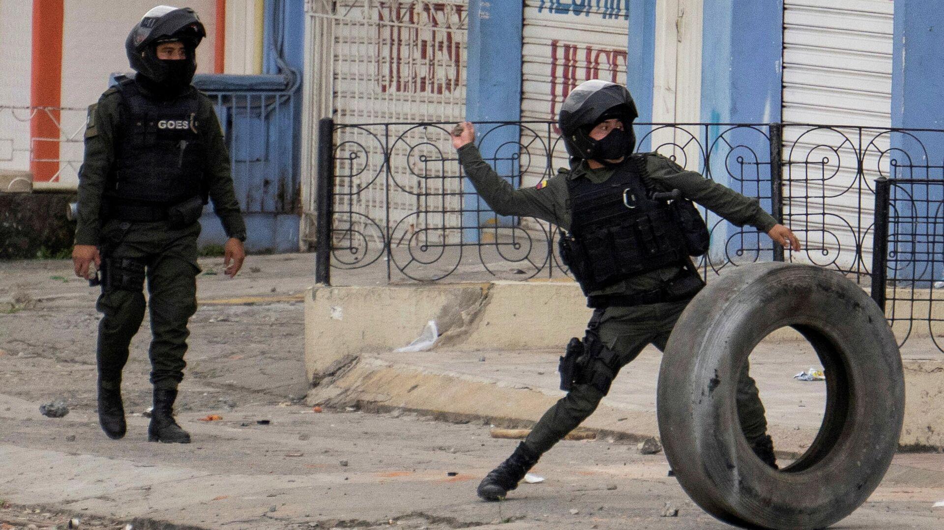Policías de Colombia - Sputnik Mundo, 1920, 20.05.2021