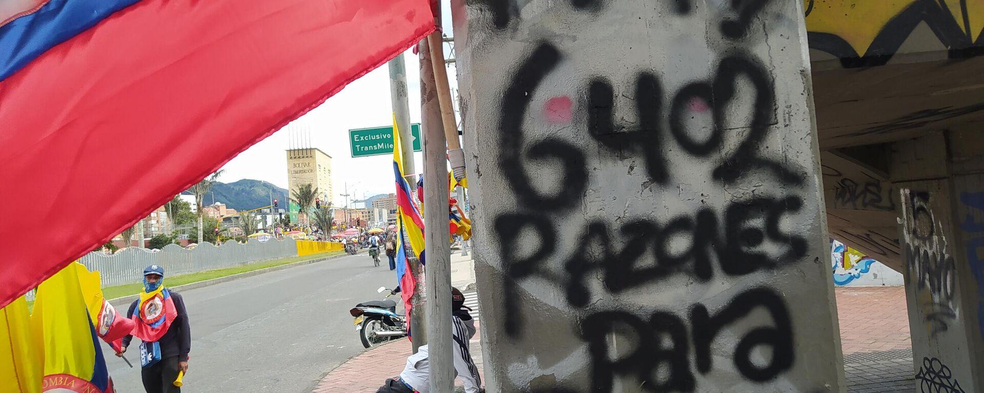 Protestas en Bogotá - Sputnik Mundo, 1920, 15.06.2021
