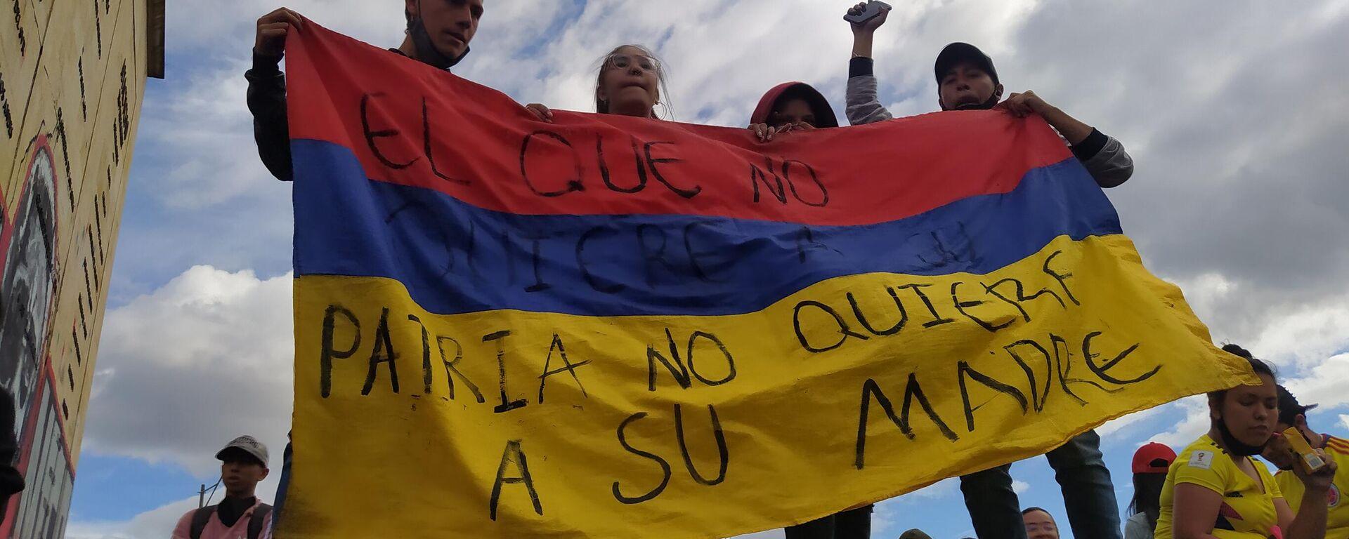 Protestas en Bogotá - Sputnik Mundo, 1920, 01.06.2021