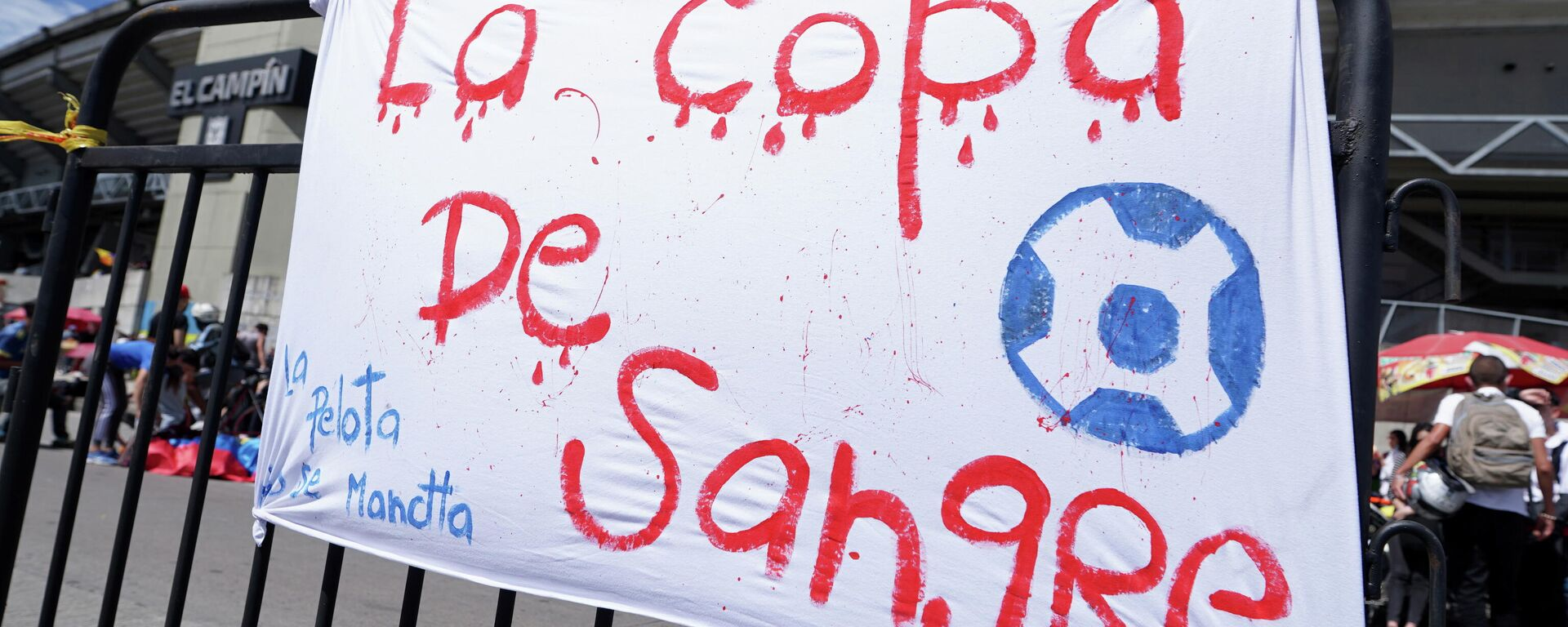 Protesta contra la Copa América en Colombia - Sputnik Mundo, 1920, 20.05.2021