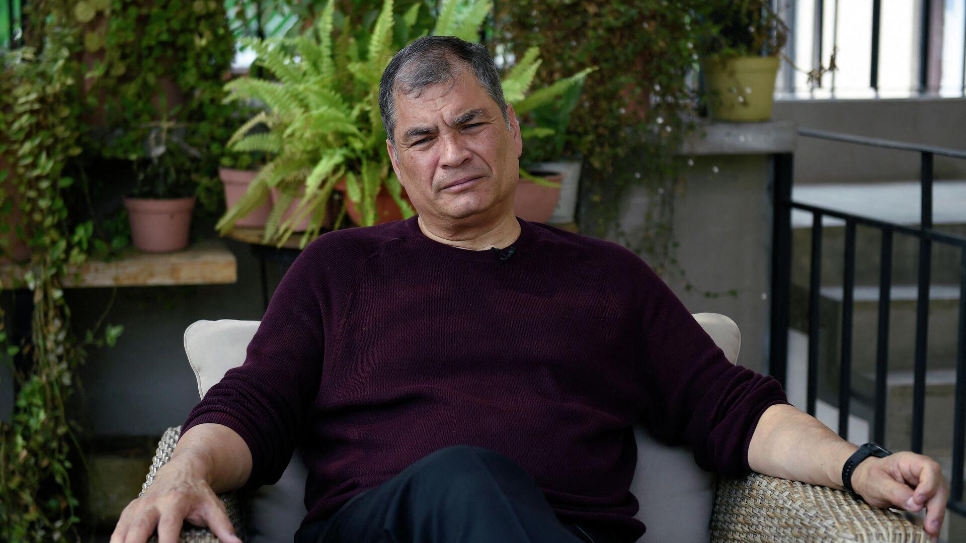 Rafael Correa, expresidente de Ecuador - Sputnik Mundo, 1920, 20.05.2021