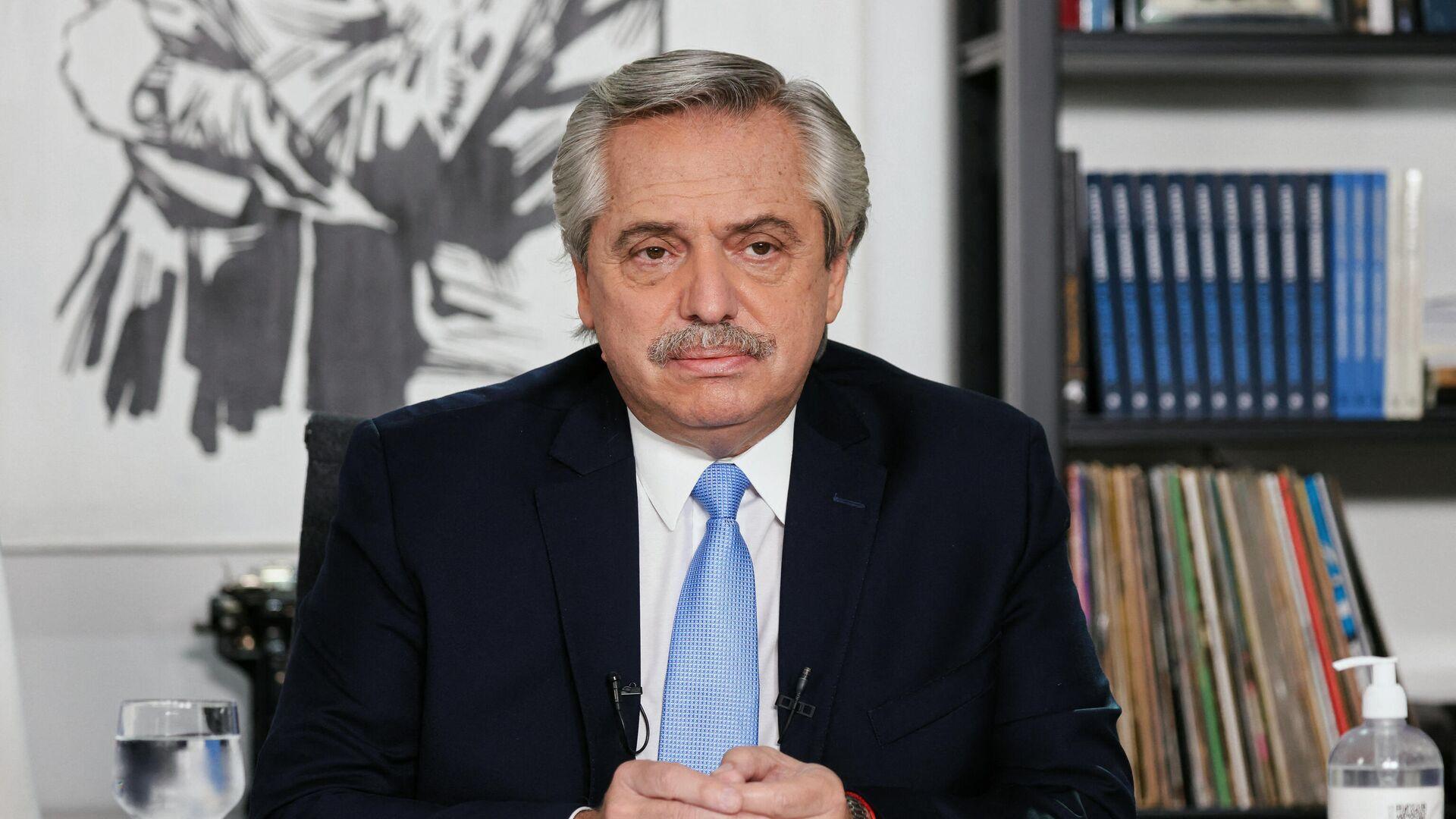 Alberto Fernández, presidente de Argentina - Sputnik Mundo, 1920, 04.06.2021