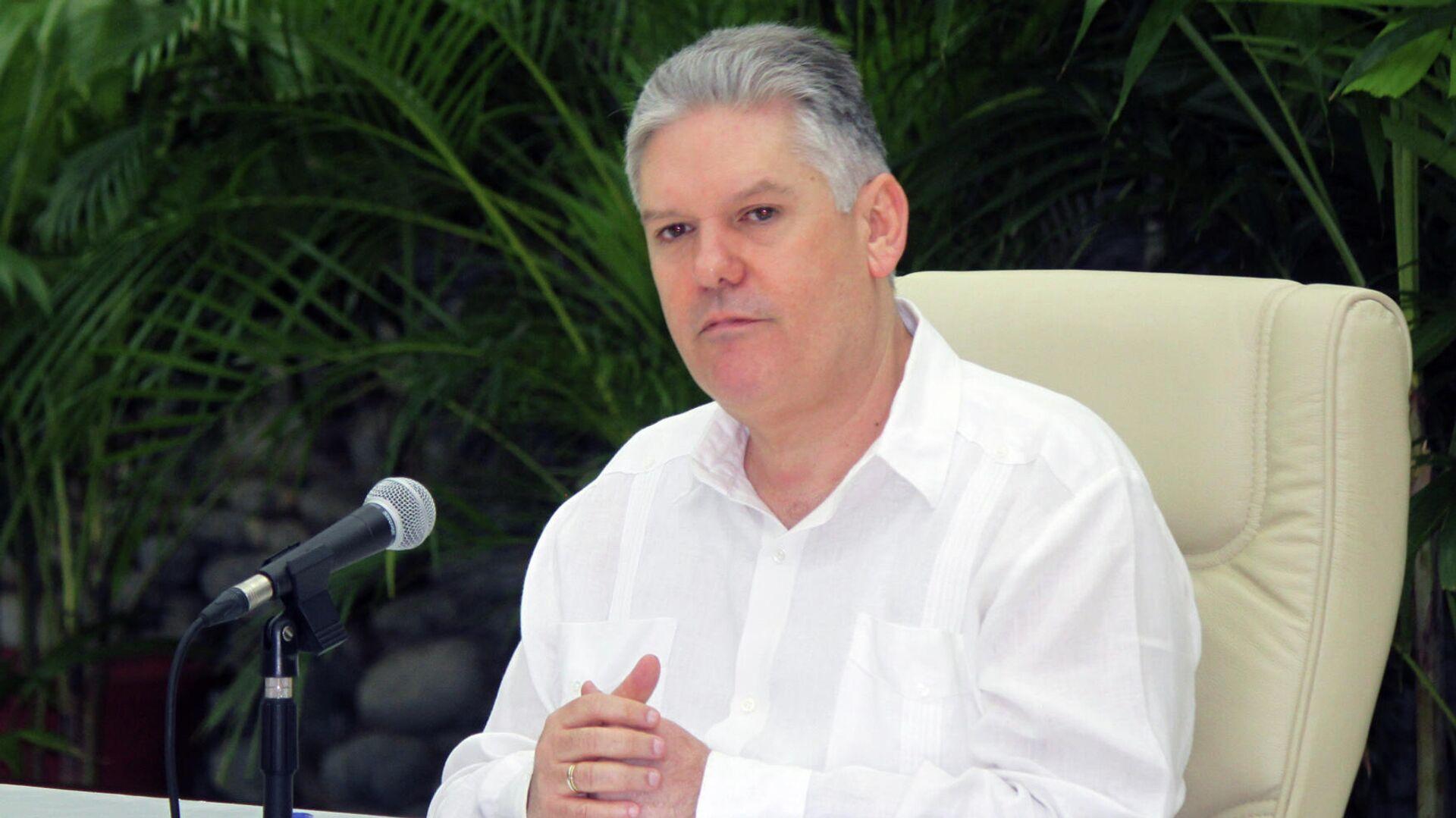 Alejandro Gil, vice primer ministro y titular de Economía de Cuba  - Sputnik Mundo, 1920, 21.05.2021