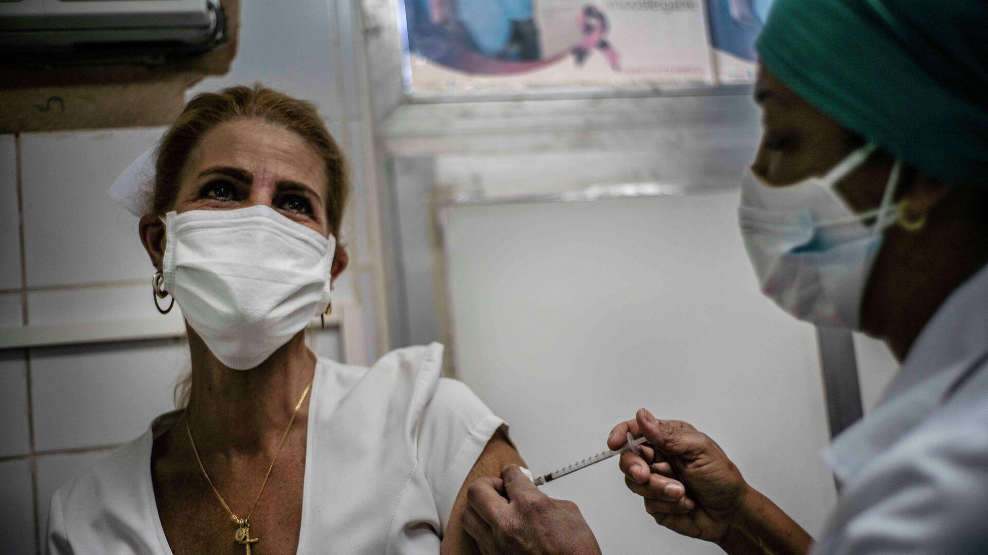 Vacunación contra el coronavirus en Cuba - Sputnik Mundo, 1920, 21.05.2021