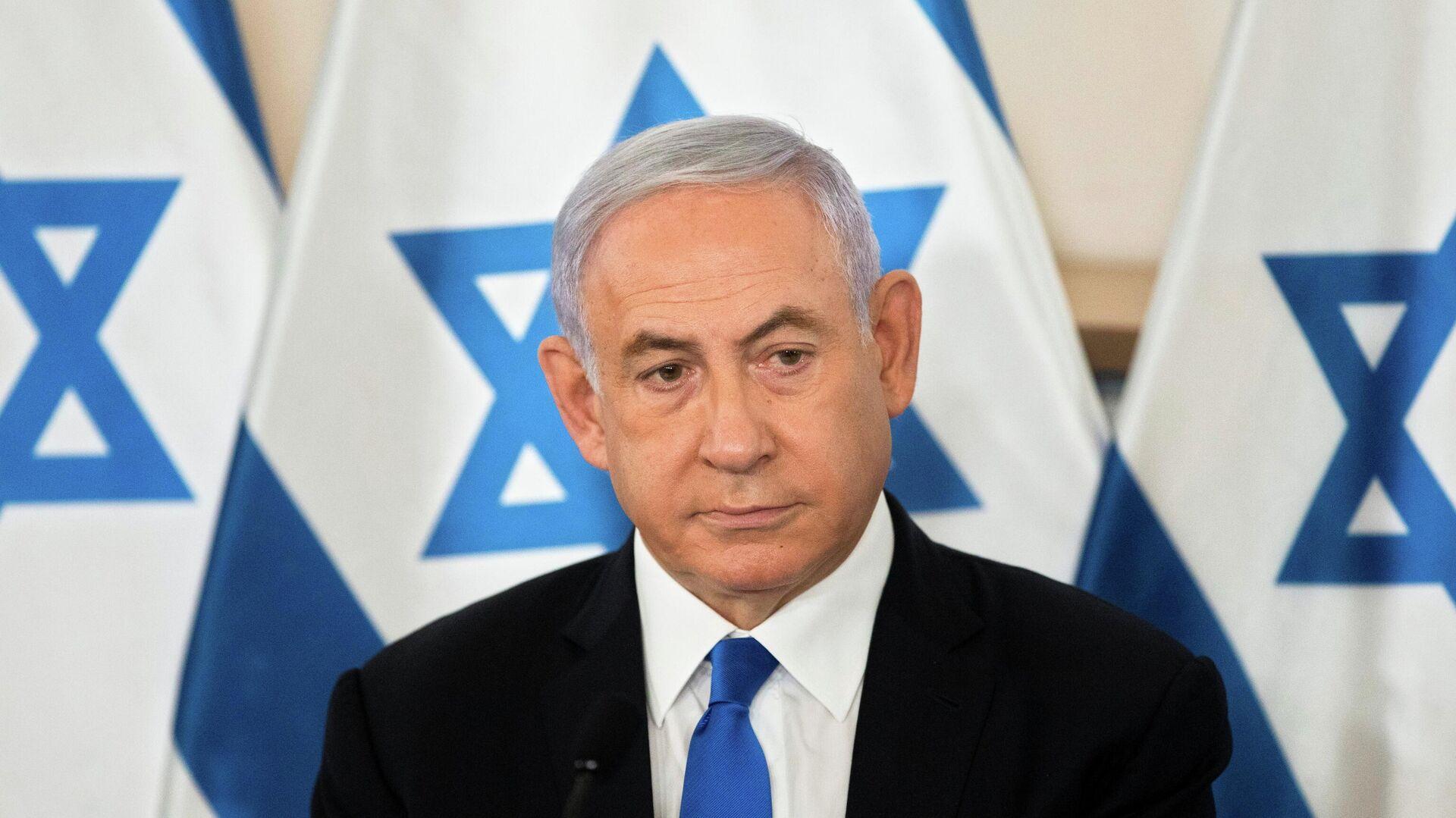 Benjamin Netanyahu, primer ministro israelí - Sputnik Mundo, 1920, 21.05.2021