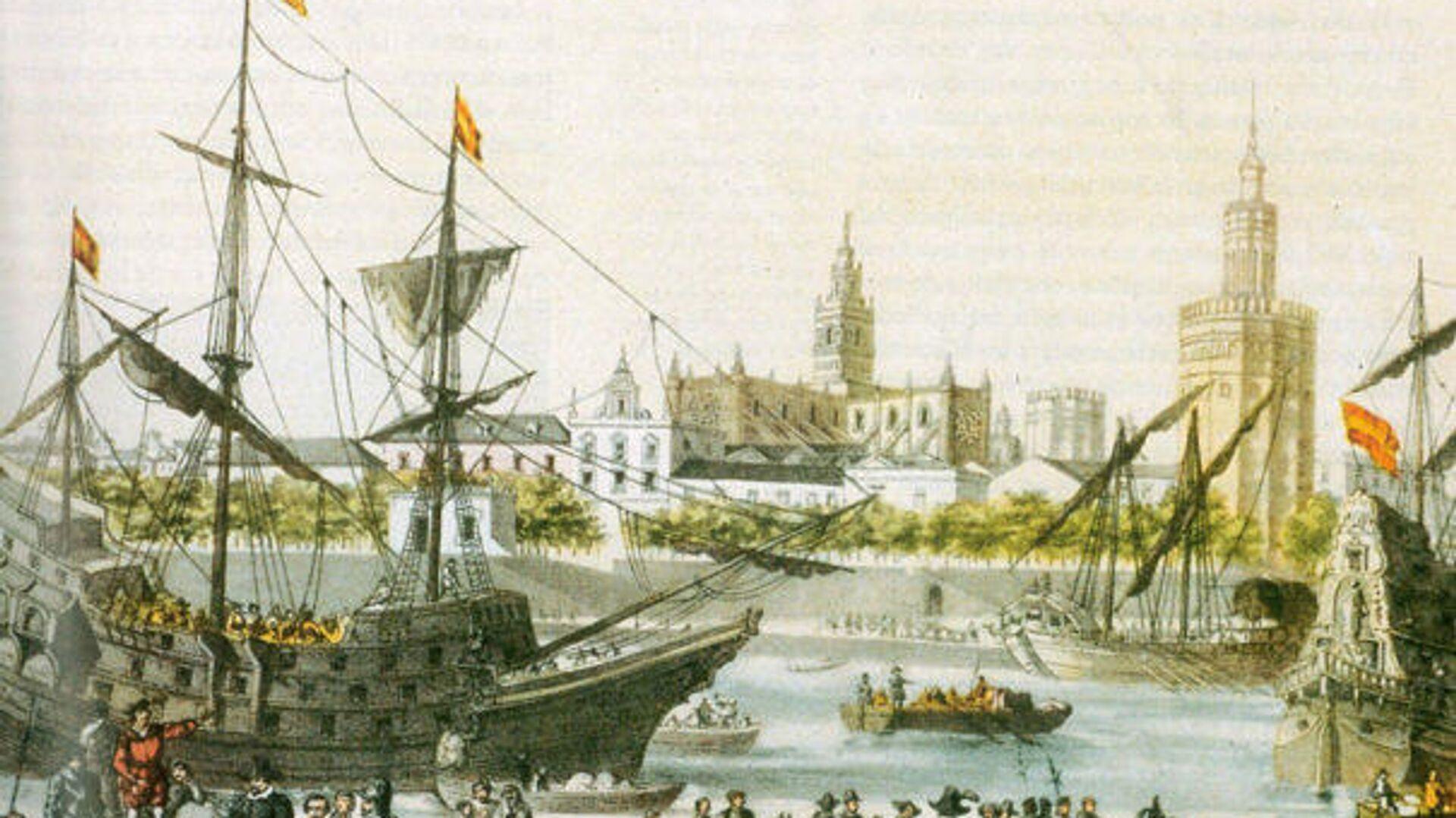 Sobre las embarcaciones del siglo XVI  - Sputnik Mundo, 1920, 21.05.2021
