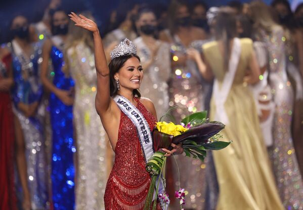 Andrea Meza, la representante de México en Miss Universo 2021.  - Sputnik Mundo