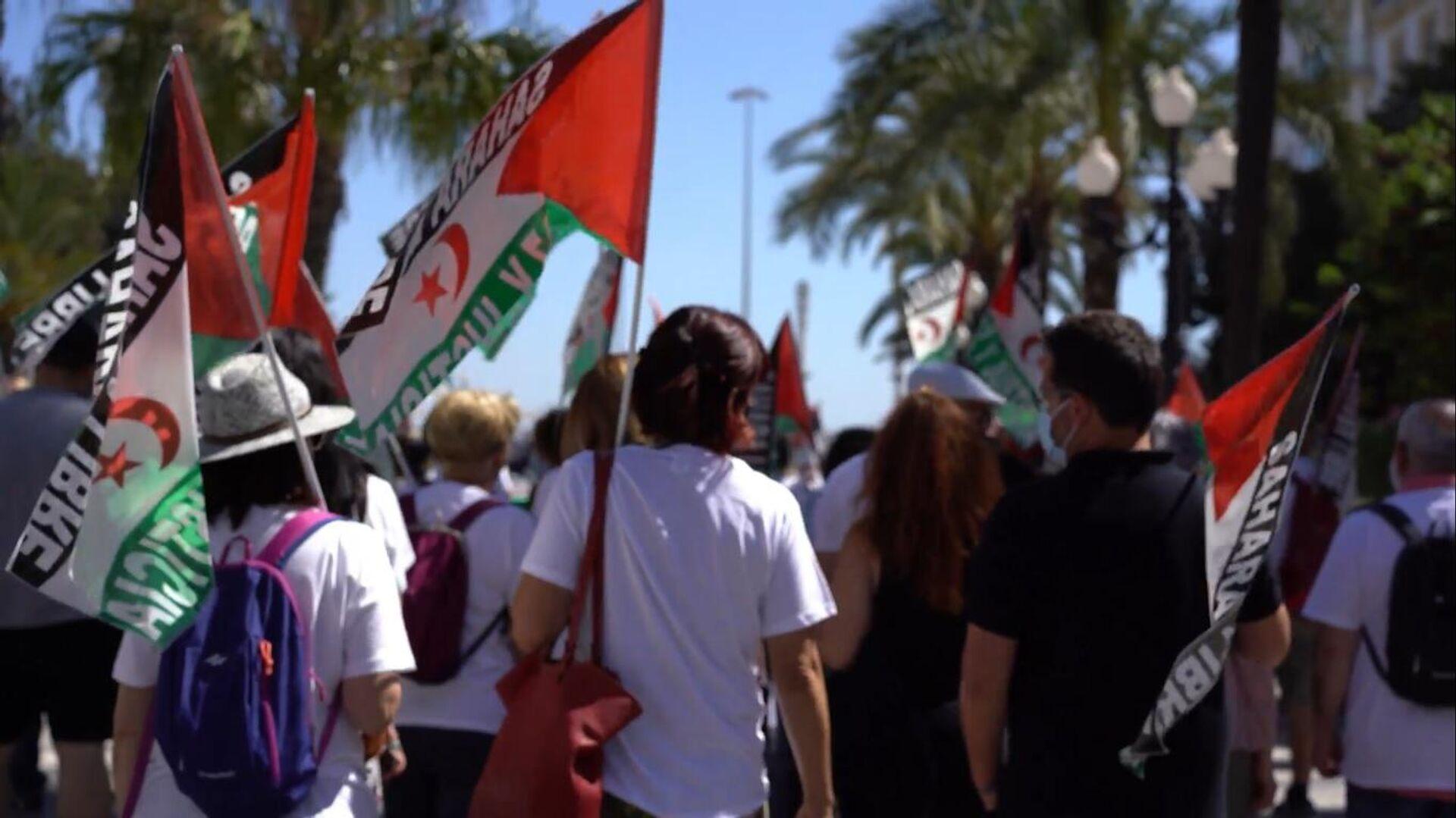 Cádiz inicia una marcha de apoyo al pueblo saharaui en ...