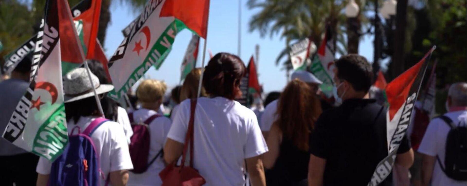 Marcha en Cádiz en solidaridad con el pueblo saharaui  - Sputnik Mundo, 1920, 21.05.2021