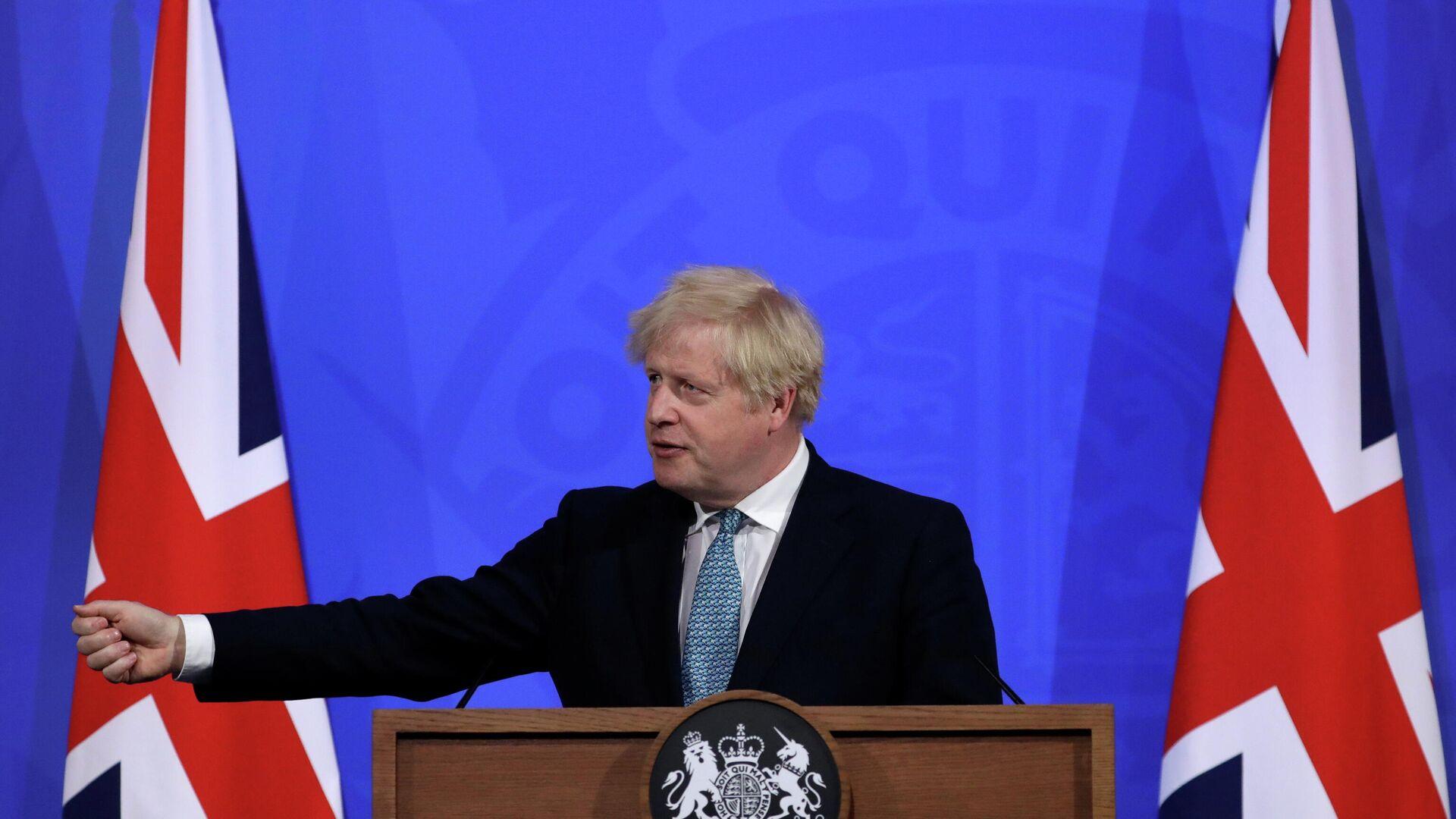 Boris Johnson, primer ministro del Reino Unido - Sputnik Mundo, 1920, 21.05.2021