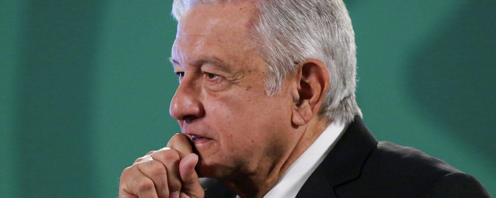 Andrés Manuel López Obrador, presidente de México - Sputnik Mundo, 1920, 21.05.2021