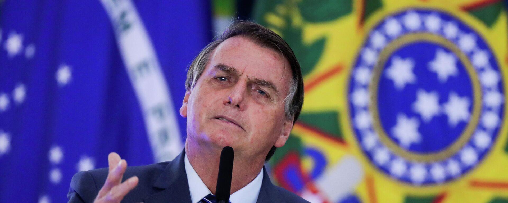 Jair Bolsonaro, presidente de Brasil - Sputnik Mundo, 1920, 21.05.2021