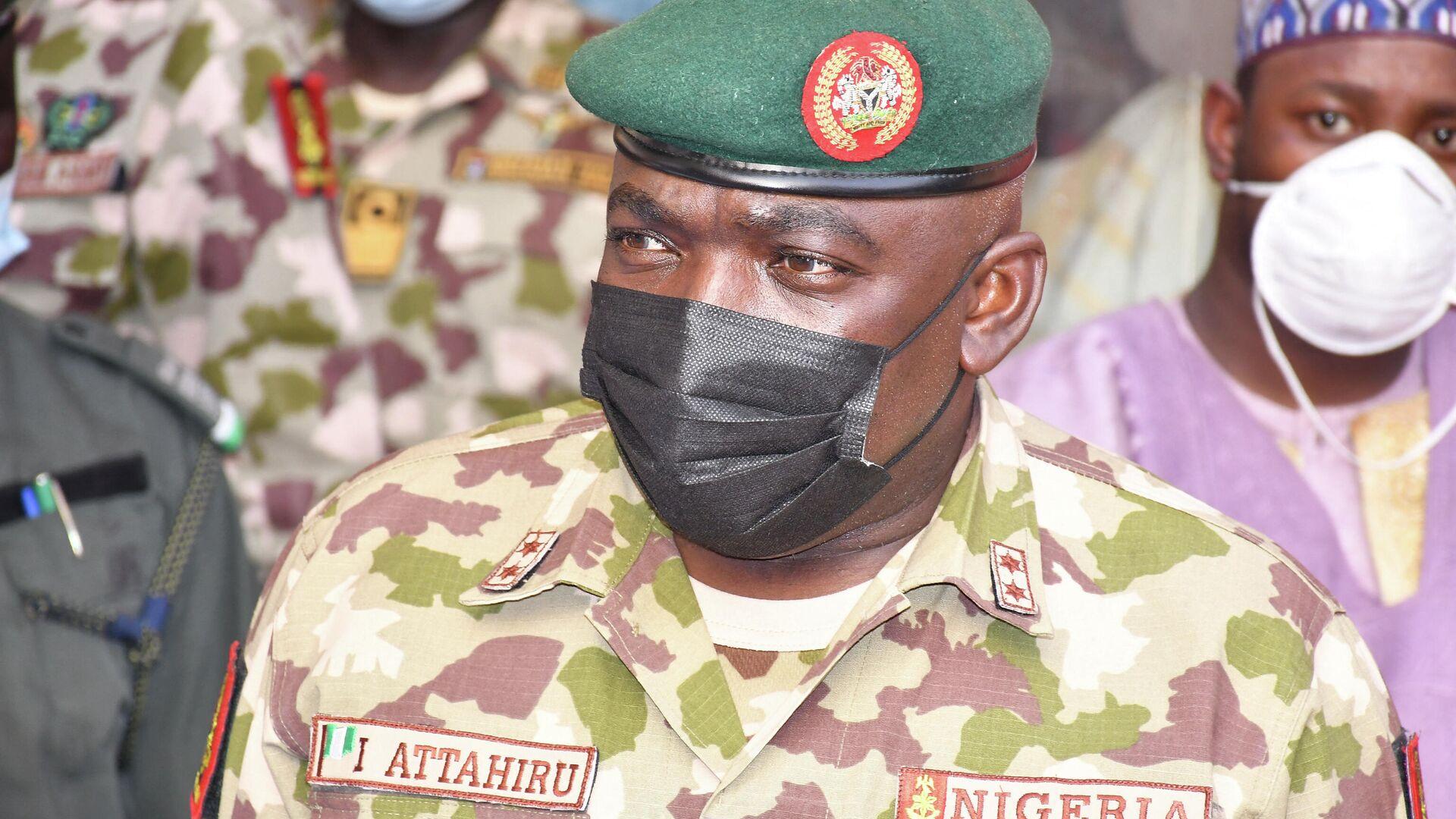 Ibrahim Attahiru, general del ejército de Nigeria - Sputnik Mundo, 1920, 21.05.2021