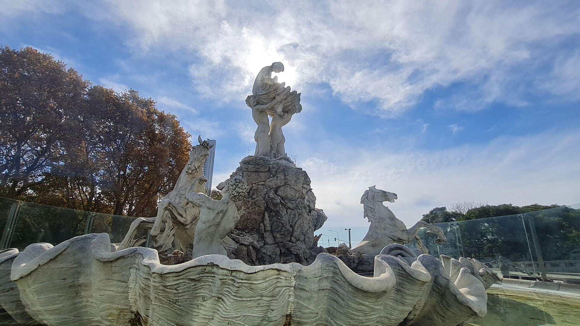 'Fuente de las Nereidas', obra de la escultora argentina Lola Mora - Sputnik Mundo, 1920, 22.05.2021