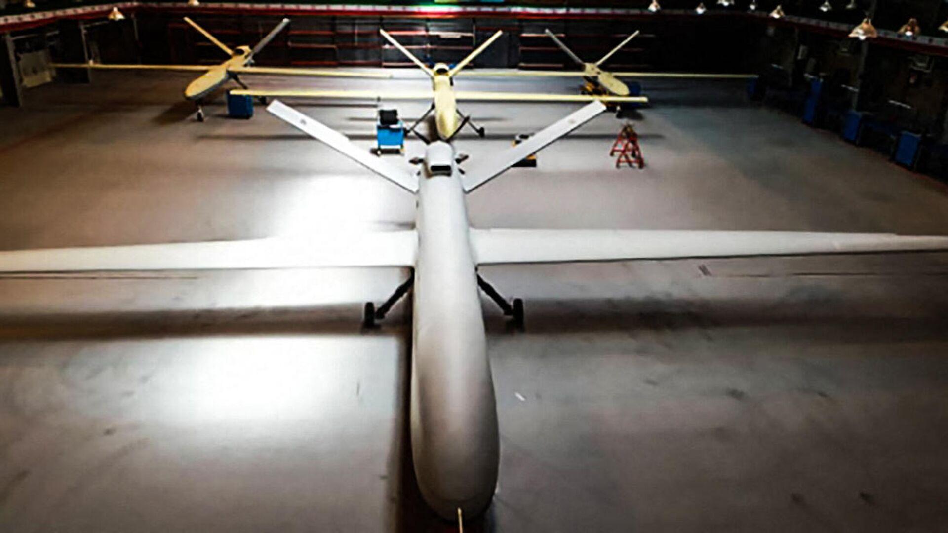 Dron israelí Gaza - Sputnik Mundo, 1920, 22.05.2021