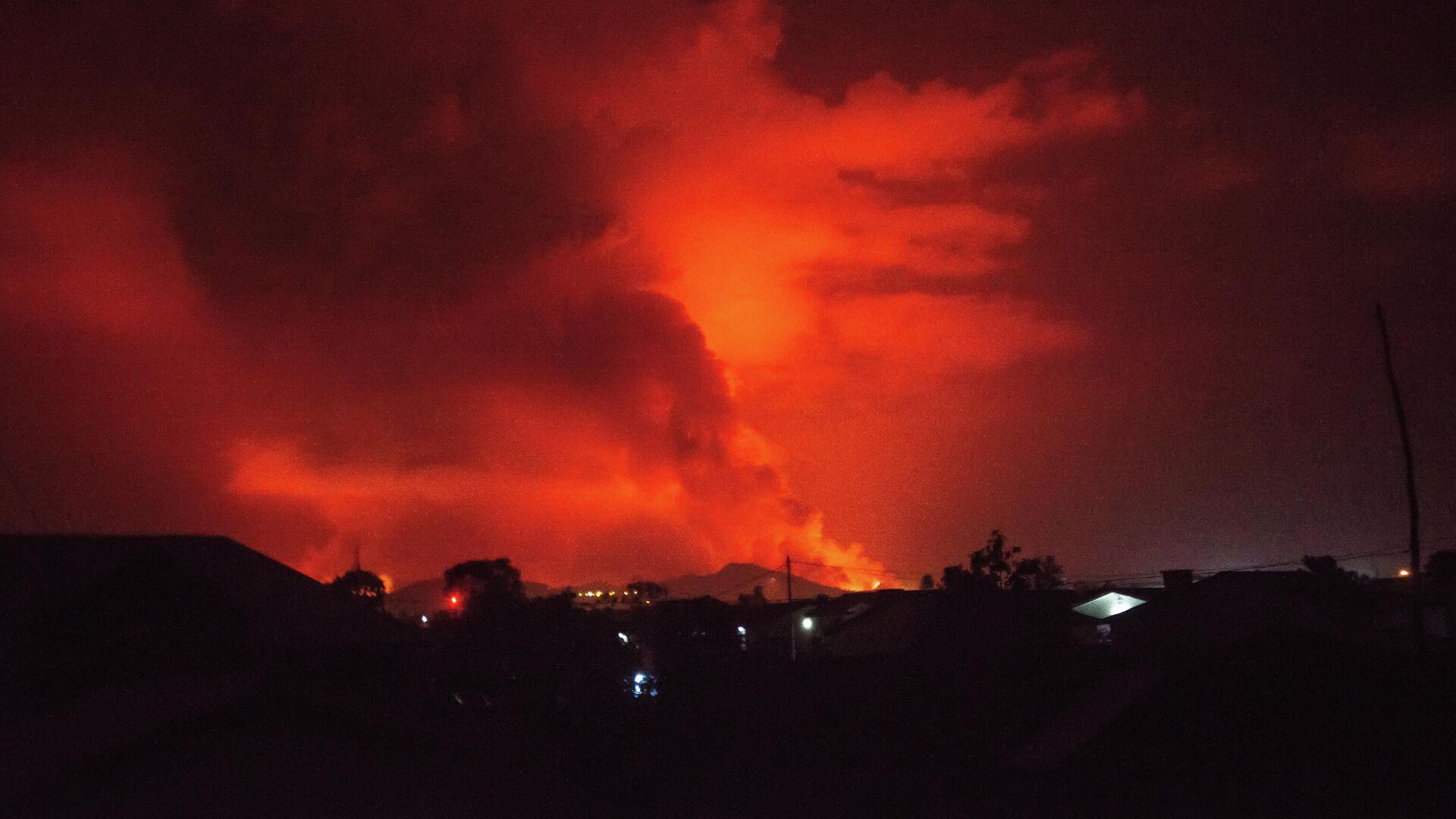 La erupción de Nyiragongo - Sputnik Mundo, 1920, 22.05.2021