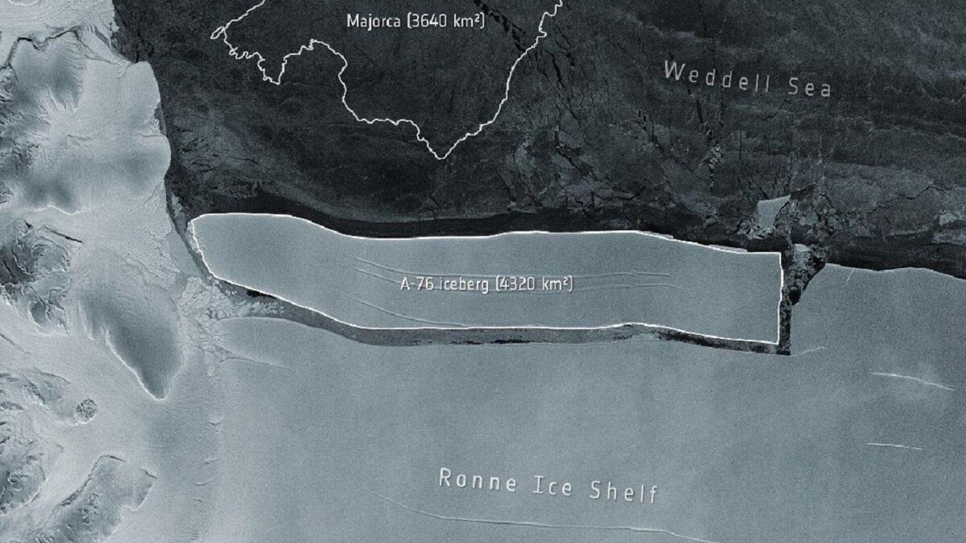 El iceberg A-76 - Sputnik Mundo, 1920, 23.05.2021