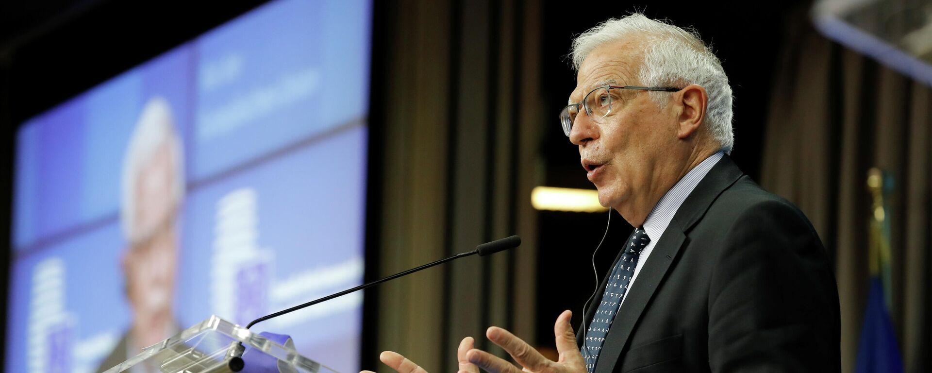 Josep Borrell, alto representante para la Política Exterior de la UE - Sputnik Mundo, 1920, 24.05.2021