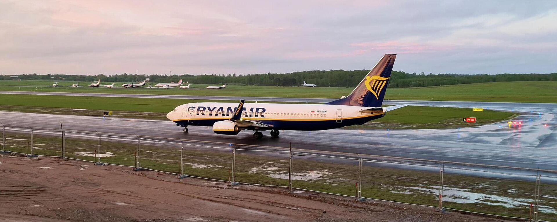 Avión de Ryanair - Sputnik Mundo, 1920, 07.06.2021