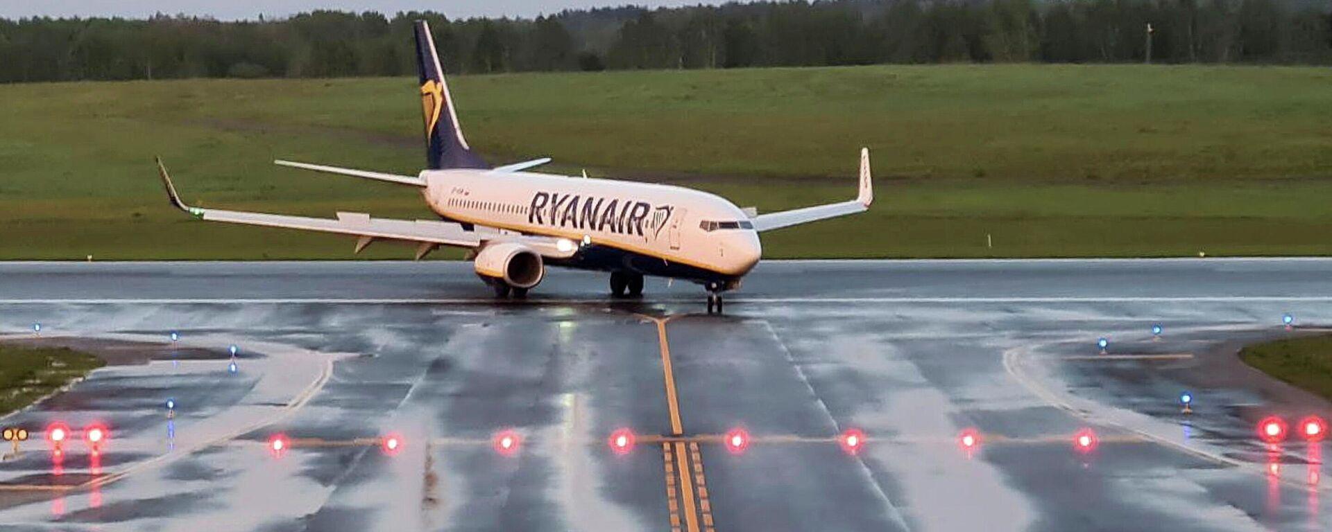 Avión de Ryanair  - Sputnik Mundo, 1920, 24.05.2021