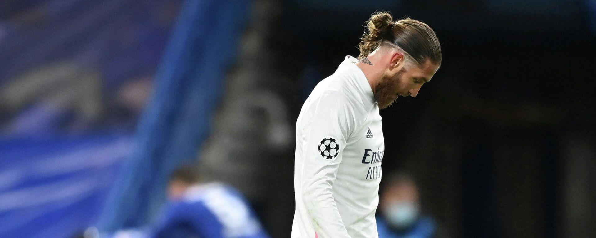 Sergio Ramos, futbolista, central del Real Madrid y capitán del combinado nacional de España - Sputnik Mundo, 1920, 24.05.2021