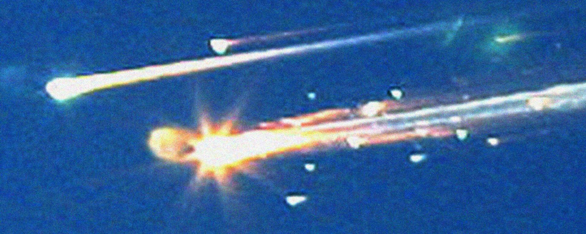Basura espacial cayendo a la Tierra, foto de archivo - Sputnik Mundo, 1920, 24.05.2021