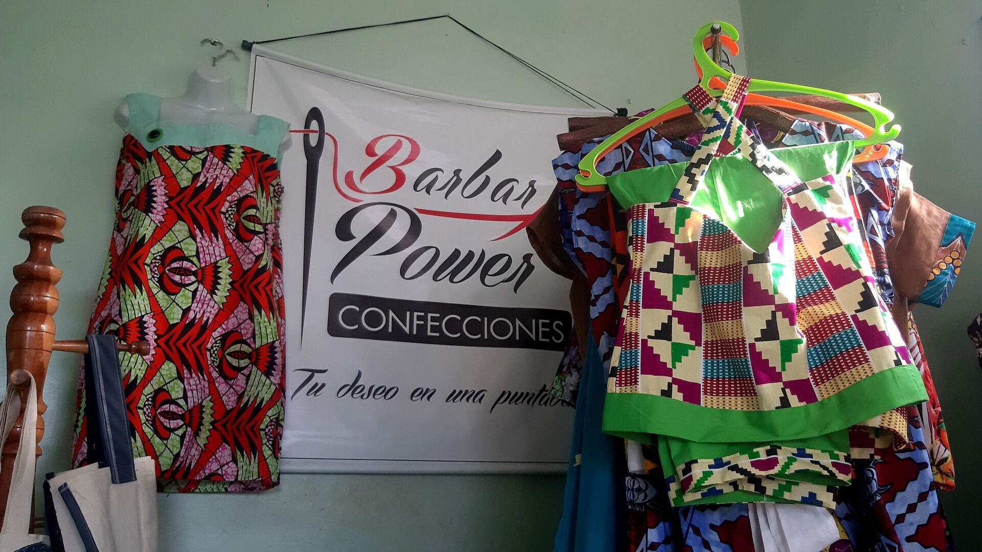 BarbarA's Power, la primera marca de ropa afro en Cuba - Sputnik Mundo, 1920, 24.05.2021