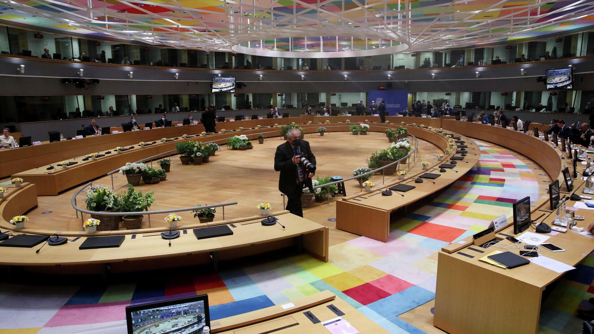Cumbre de la UE en Bruselas - Sputnik Mundo, 1920, 24.05.2021