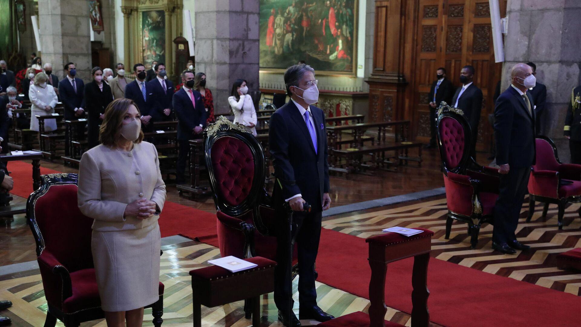 La investidura del nuevo Presidente de Ecuador, Guillermo Lasso - Sputnik Mundo, 1920, 25.05.2021