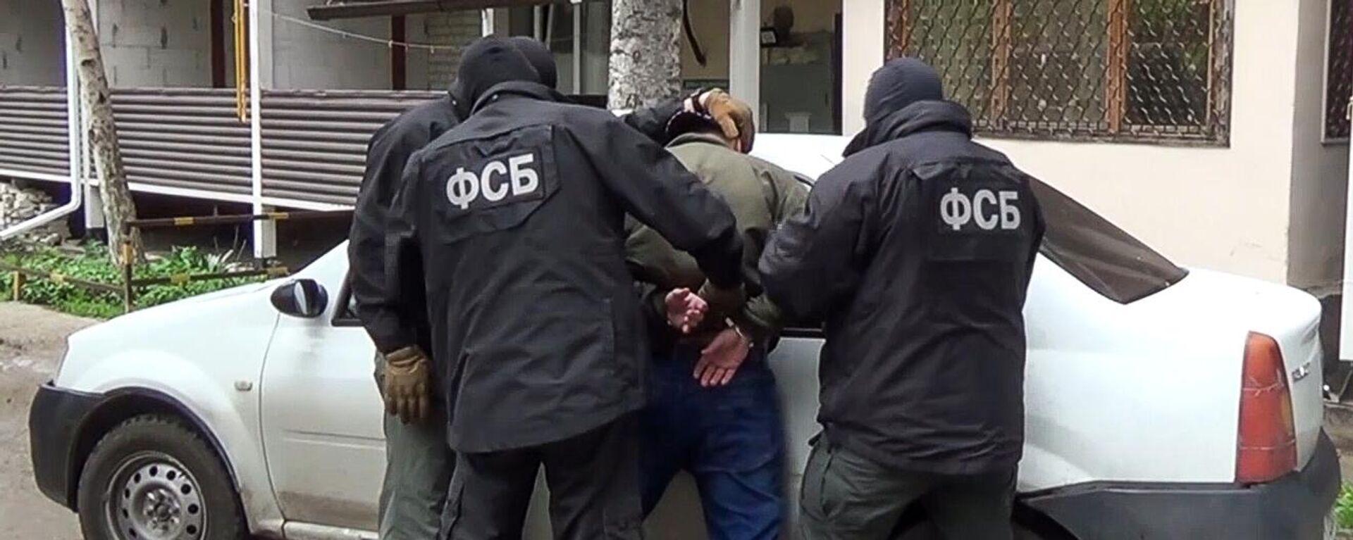Detención de un ciudadano ruso que planeaba efectuar un ataque terrorista - Sputnik Mundo, 1920, 25.05.2021