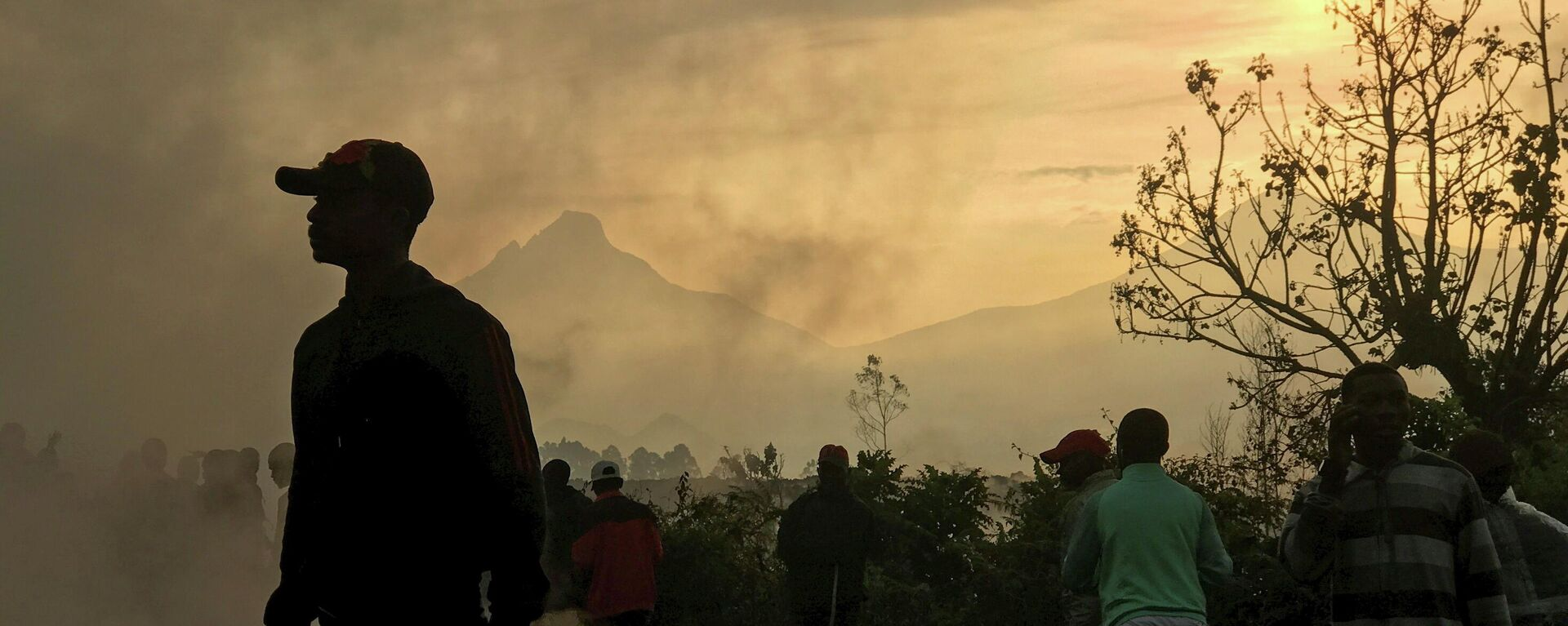 Erupción del volcán Nyiragongo en la República Democrática del Congo - Sputnik Mundo, 1920, 25.05.2021