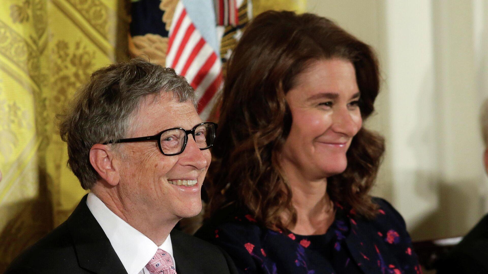 Bill y Melinda Gates el 2016 - Sputnik Mundo, 1920, 25.05.2021