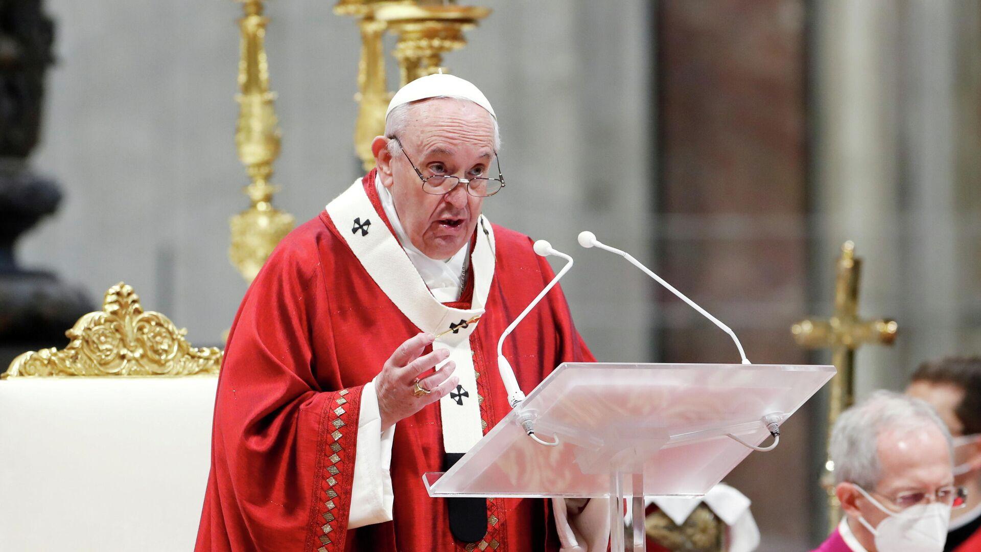 papa Francisco - Sputnik Mundo, 1920, 25.05.2021