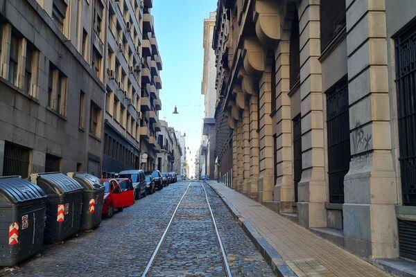 Buenos Aires parecía una ciudad fantasma - Sputnik Mundo