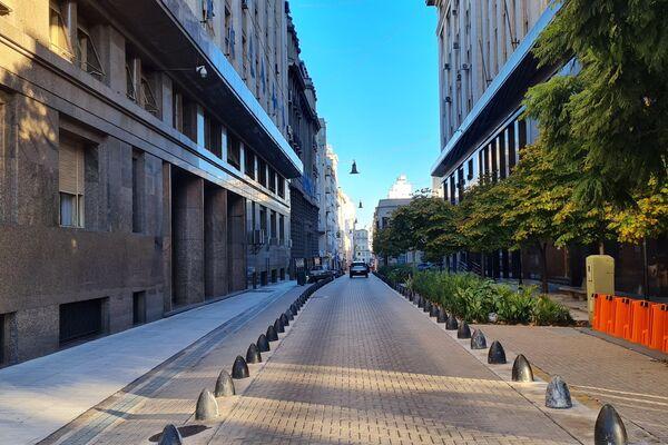 Calles desiertas durante el 25 de Mayo - Sputnik Mundo